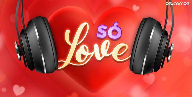 Imagem de divulgação da playlist Só Love, do Palco MP3