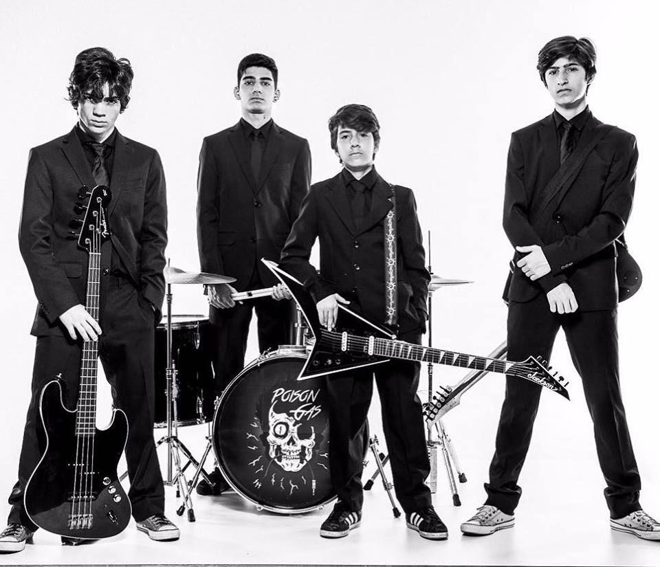poison gas, banda de pop rock mineira