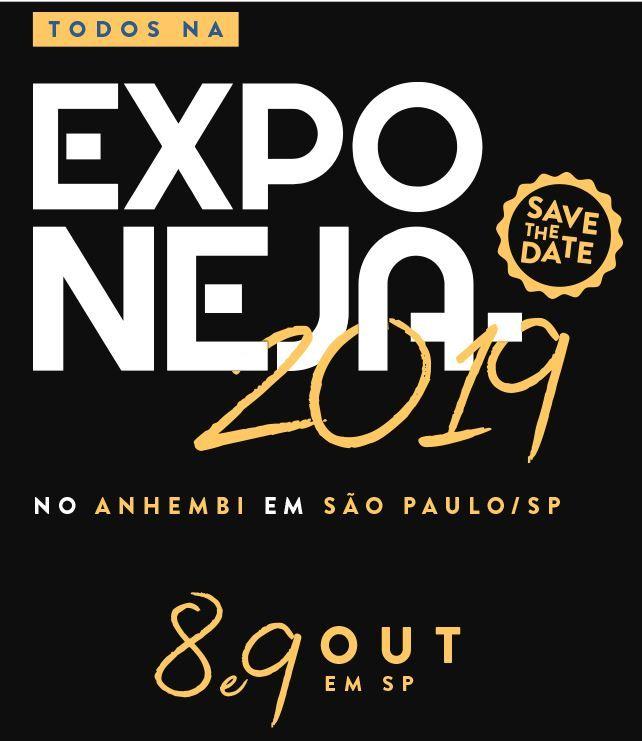 Exponeja 2019 vai acontecer nos dias 8 e 9 d eoutubro