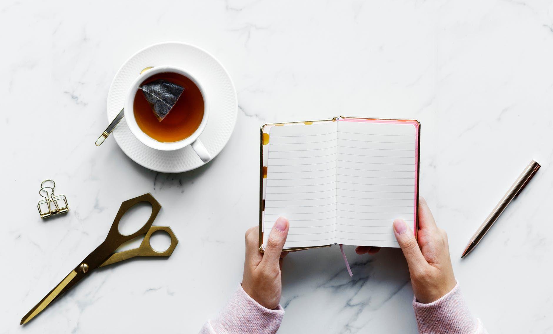 Caderninho para anotações é providencial