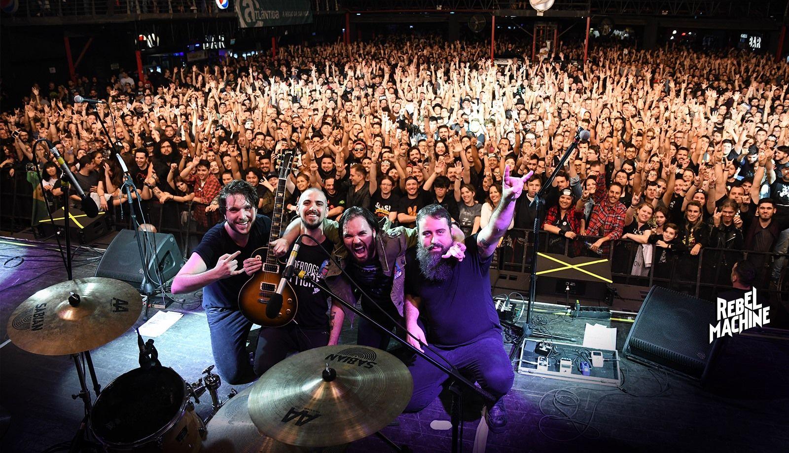 Rebel Machine é uma banda da atual cena autoral do rock gaúcho