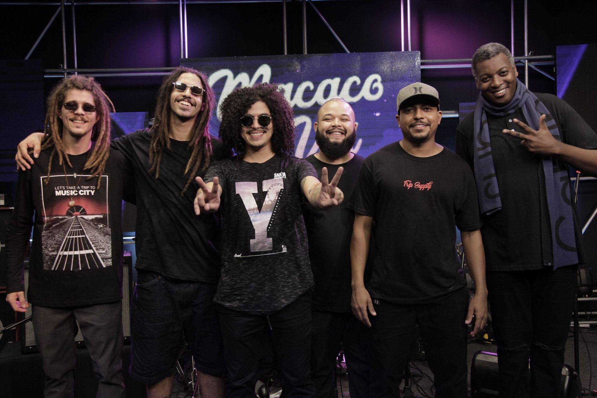 Banda Macaco Véi faz um som que ultrapassa as fronteiras do pop rock