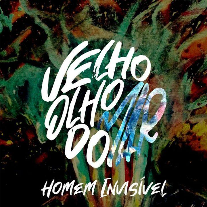 Capa de Homem Invisível, EP de estreia da banda Velho Olho do Mar