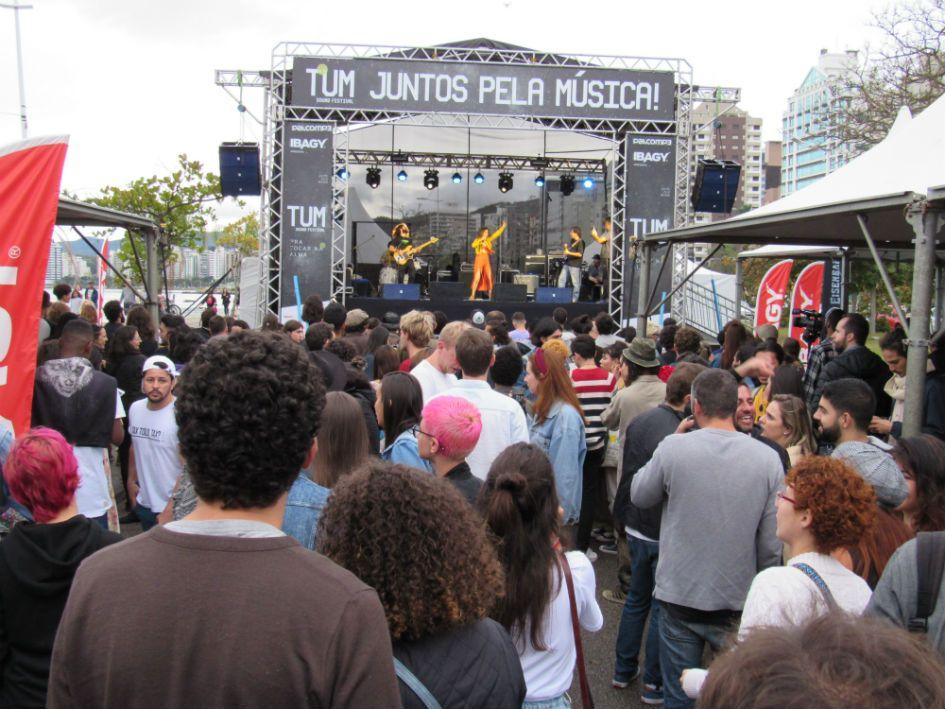 Bárbara Beats fez show no Tum Sound Festival