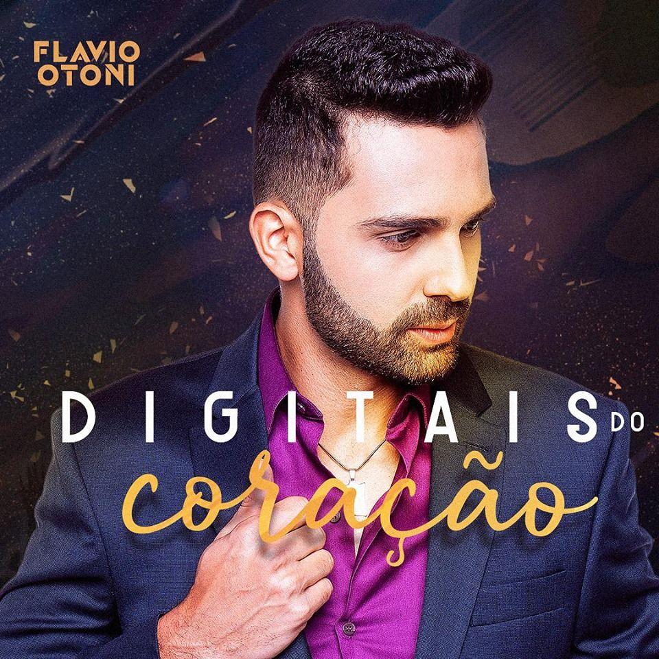 Capa do EP Digitais do Coração, trabalho do artista Flavio Otoni