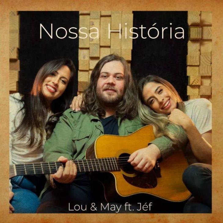 Dupla Lou e May grava música com cantor Jéf