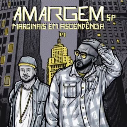 Capa do disco da dupla Amargem SP