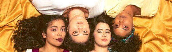 Integrantes da banda Souela divulgam o EP Alma de Mulher