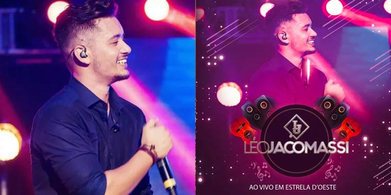 Léo Jacomassi é um cantor de música sertaneja que tá brilhando no Palco MP3
