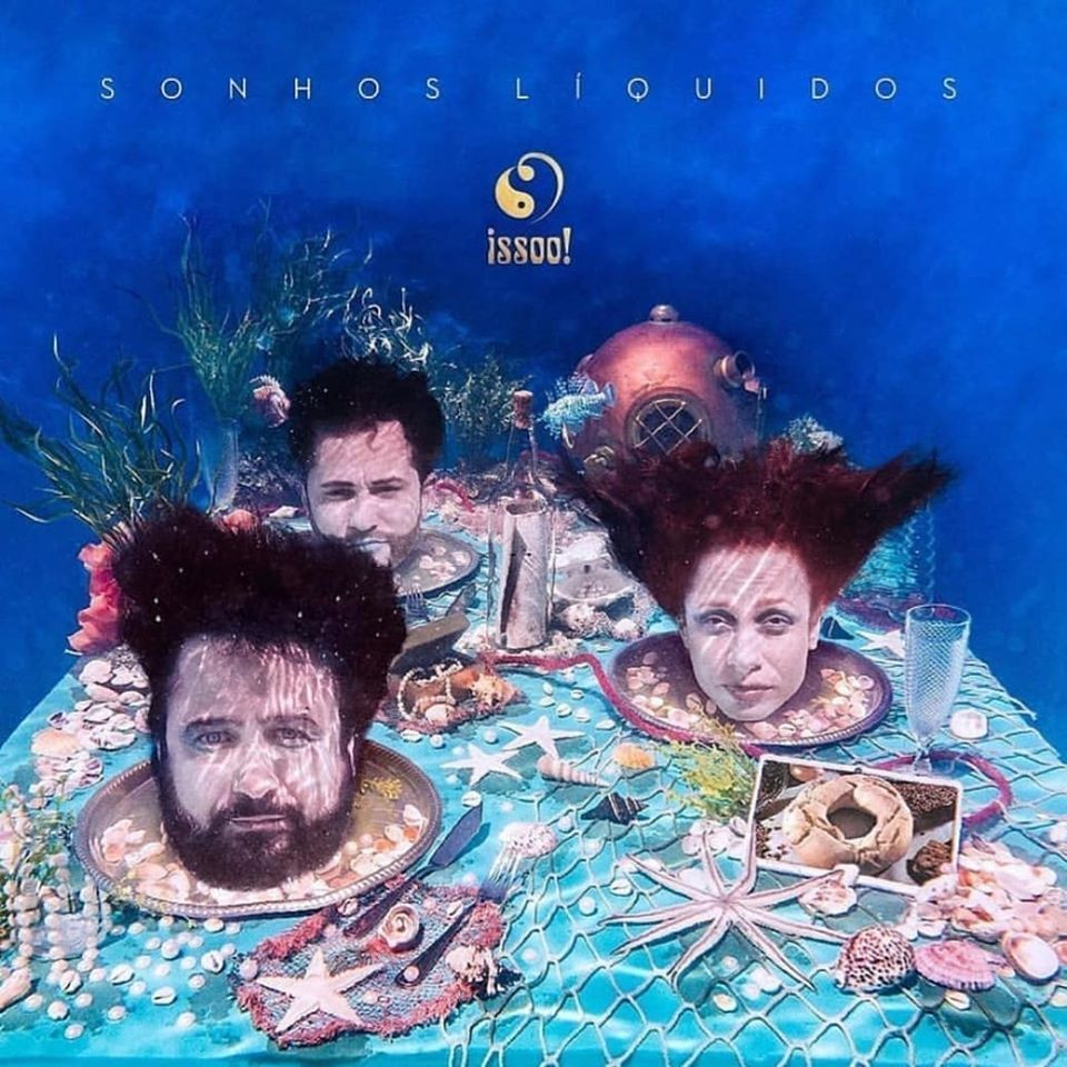 Capa do disco da Issooo foi inspirada no grupo Secos & Molhados