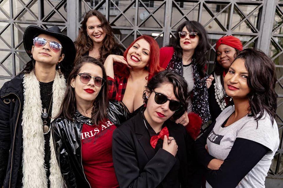 Ablusadas é a primeira big band feminina de Minas Gerais