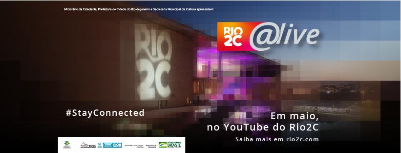 Imagem de divulgação do Rio2C Live