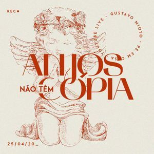 Imagem de divulgação do single Anjos não têm cópia, de Gustavo Mioto