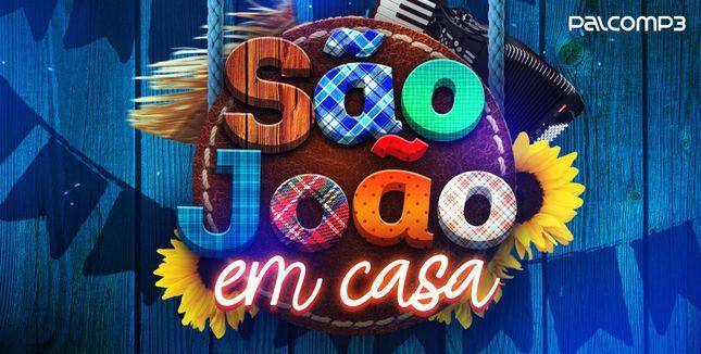 Imagem de divulgação da playlist São João em Casa