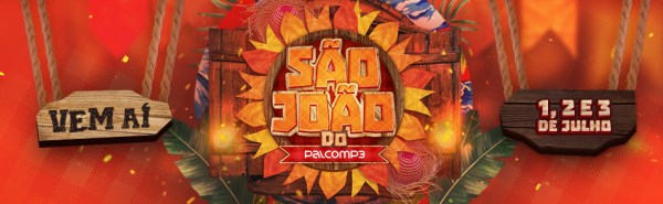 Imagem de divulgação mostra as datas do São João do Palco MP3