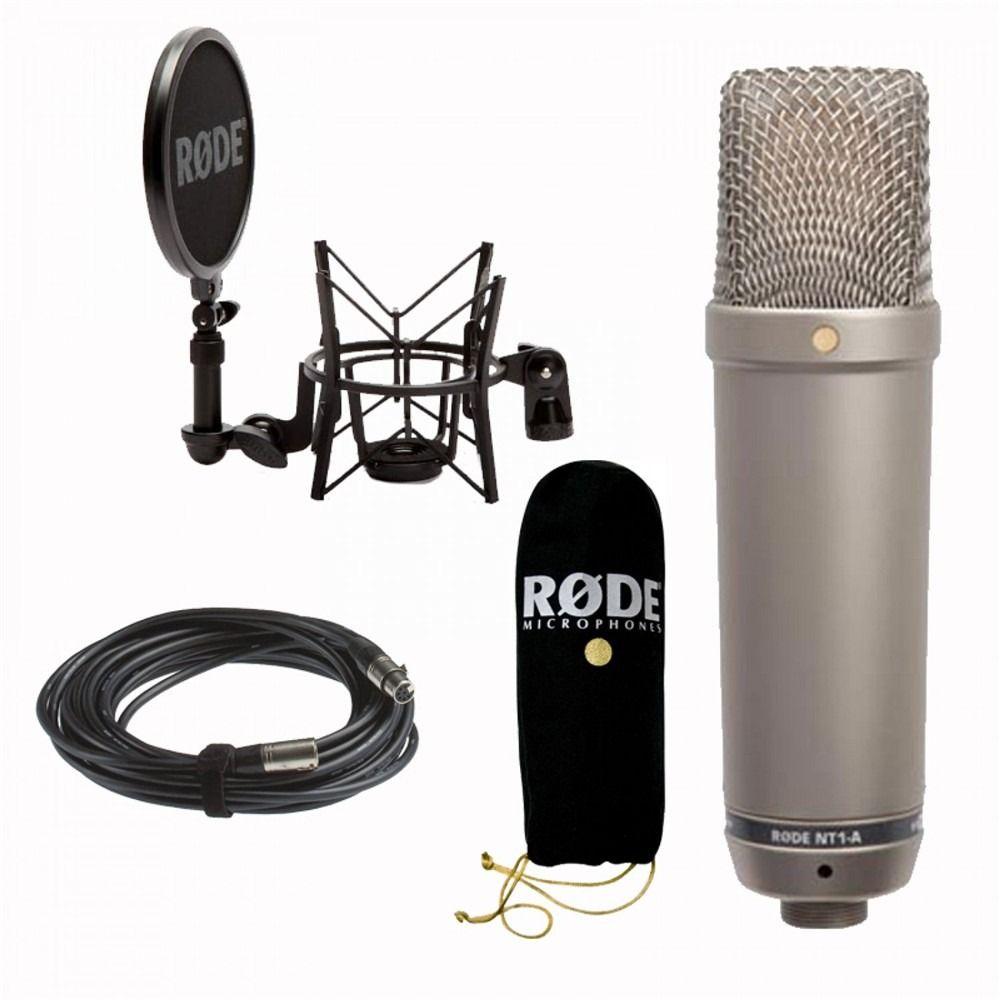Rode NT1A, microfone de diafragma largo,
