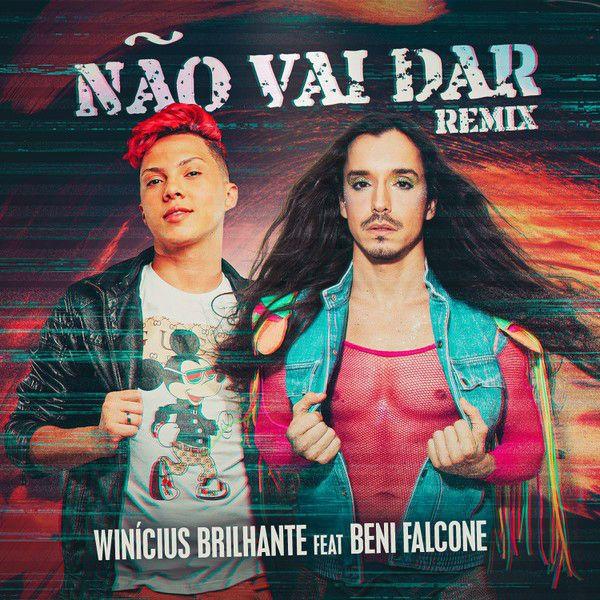 Winícius Brilhante e Beni Falcone divulgam o single Não Vai Dar