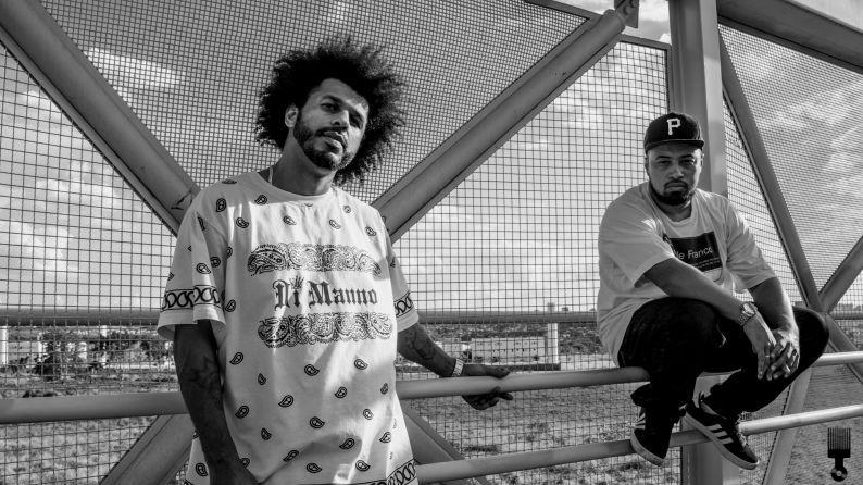 João D Deus e Vinicius Preto, rappers da nova geração
