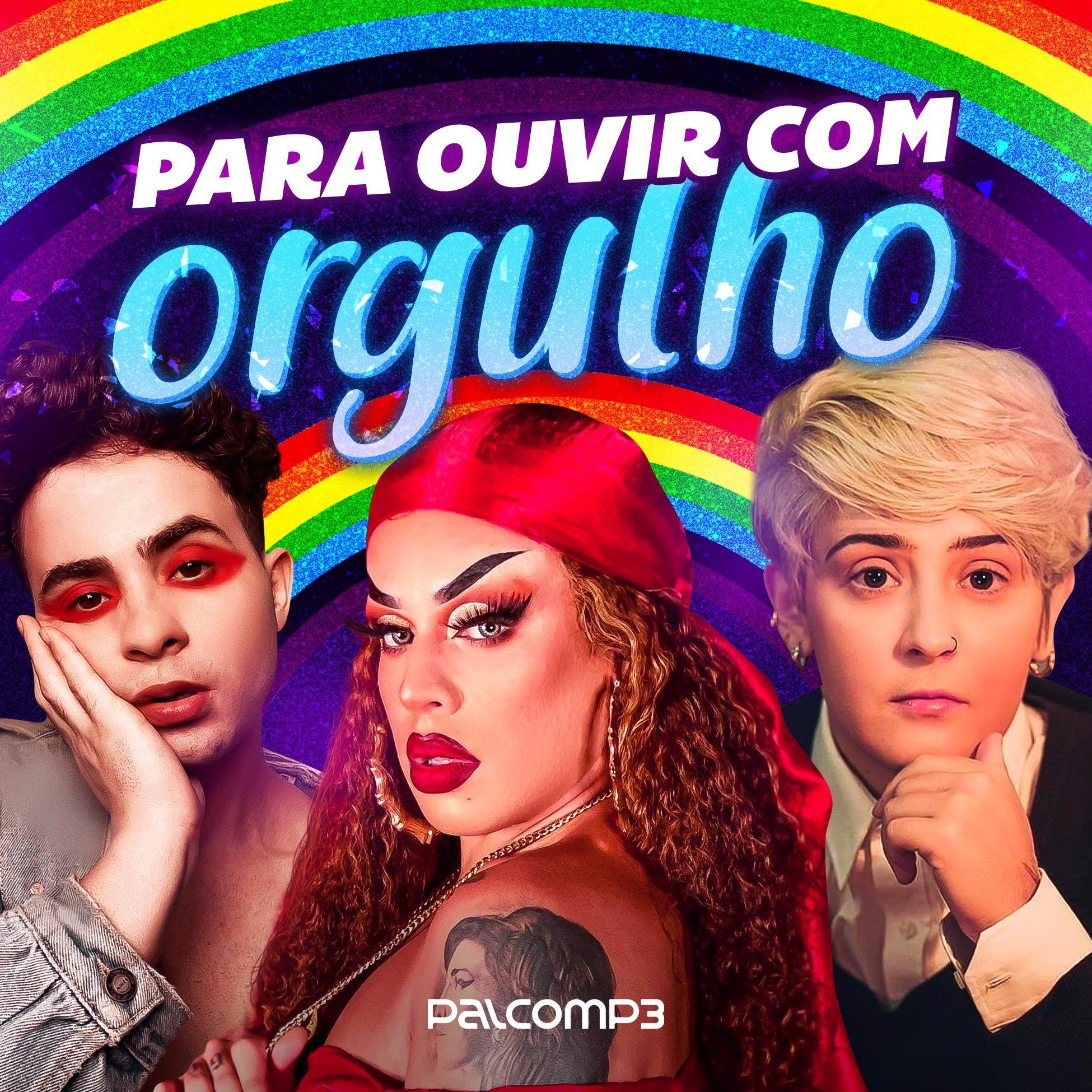 Palco MP3 divulga playlist com músicas de artistas LGBTQ+