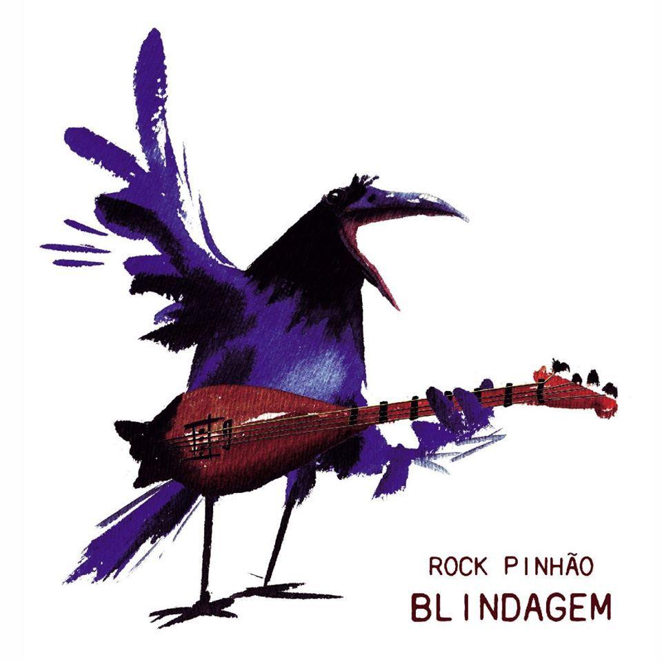 Álbuns para ouvir hoje, capa do Rock Pinhão