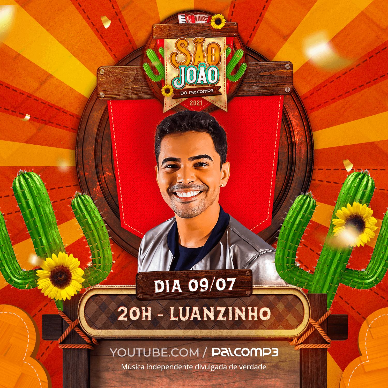 Luanzinho Moraes, atração do São João do Palco MP3