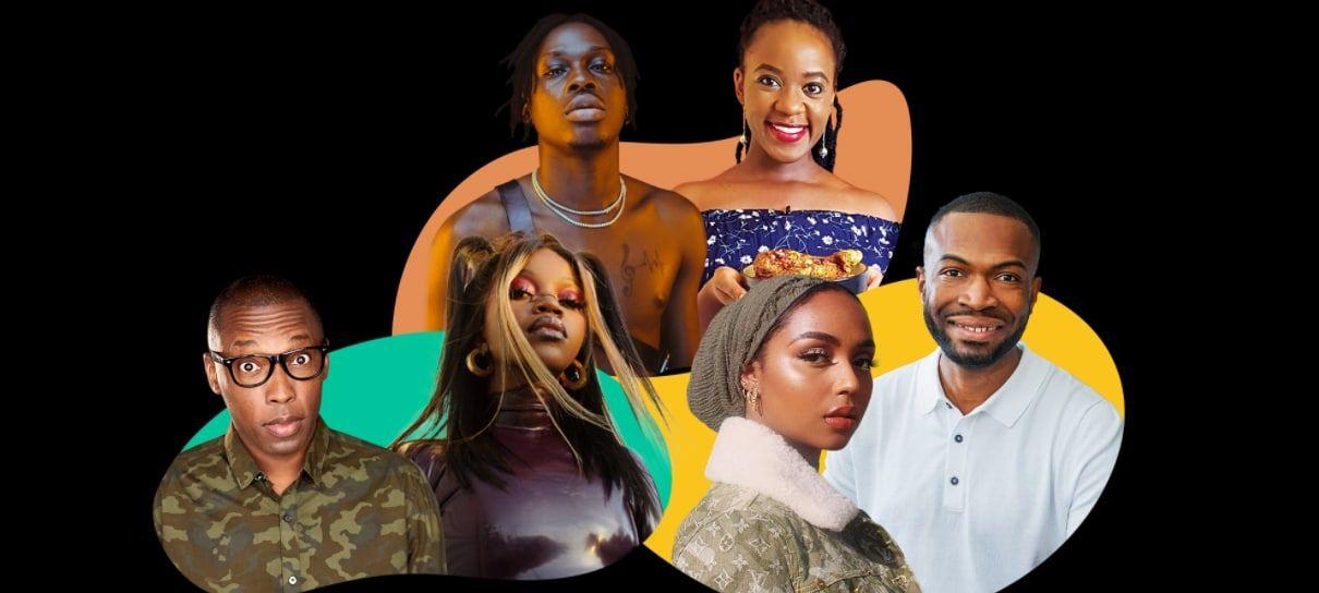 Participantes do Fundo Vozes Negras 2021