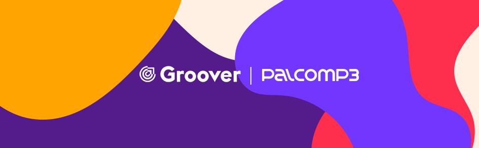 palco mp3 e groover header
