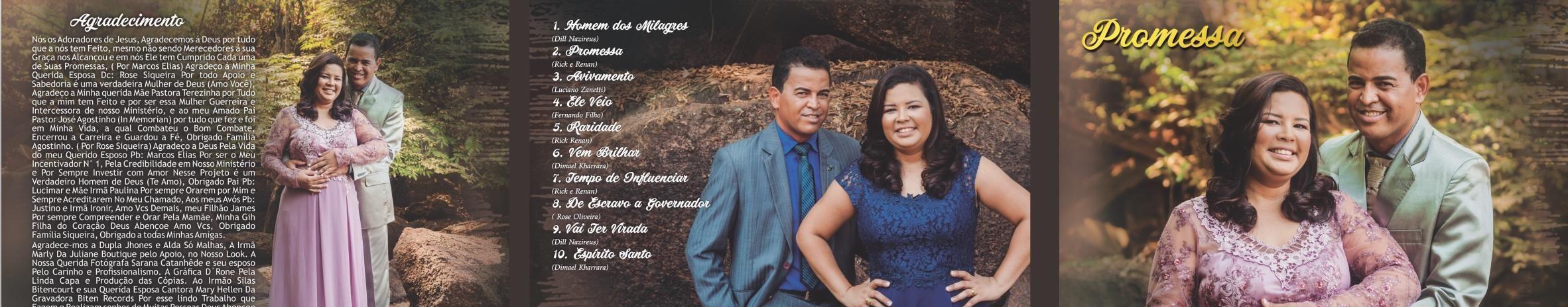 Imagem de capa de Marcos Elias E Rose Siqueira