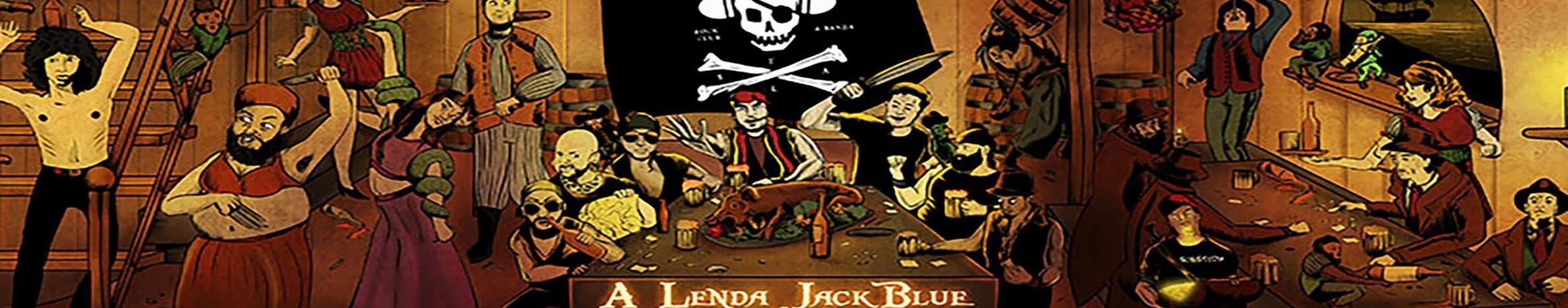 Imagem de capa de A Lenda Jack Blue & Os Garotos Perdidos