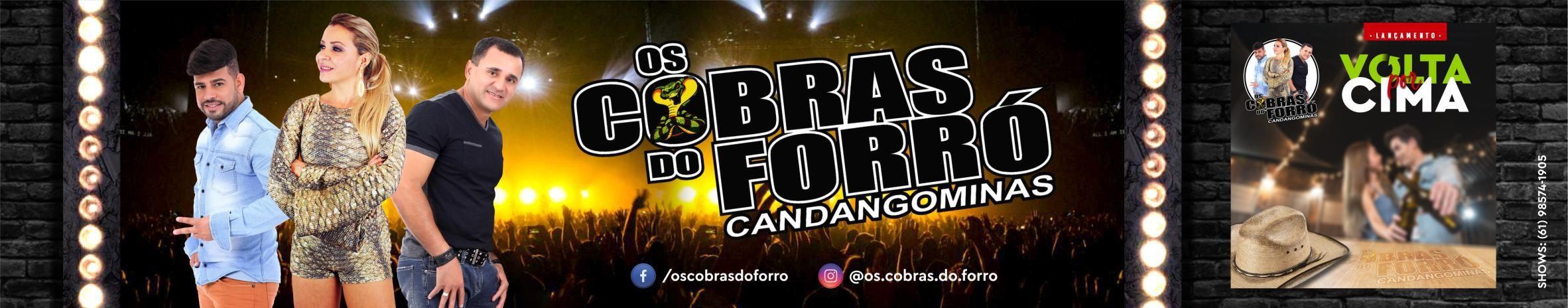 Imagem de capa de Os Cobras do Forró Candangominas!!!