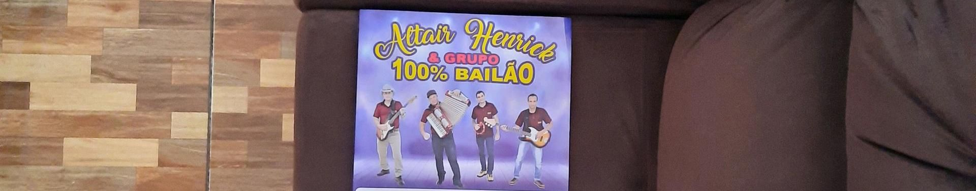 Imagem de capa de Altair Henrick E Grupo 100% Bailão
