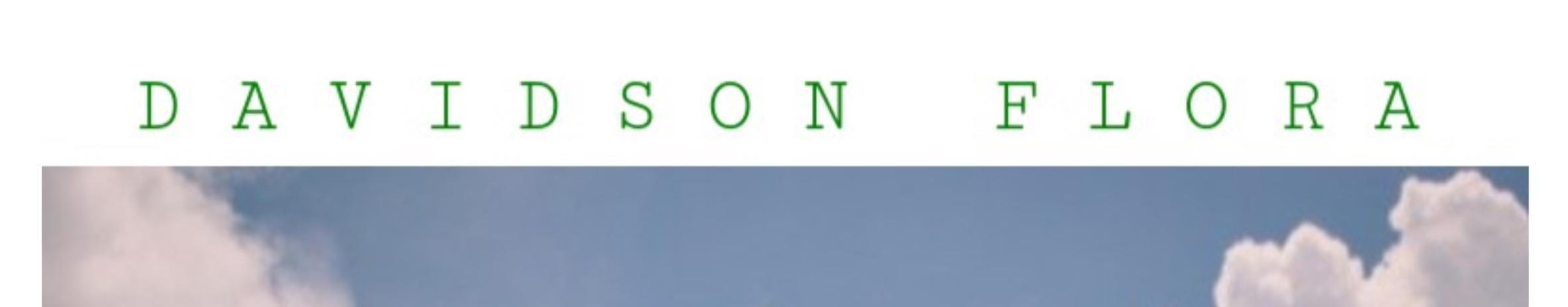 Imagem de capa de Davidson Flora