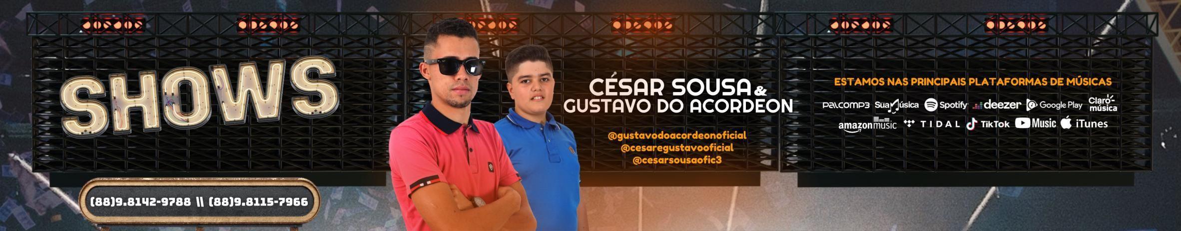 Imagem de capa de CÉSAR SOUSA & GUSTAVO DO ACORDEON