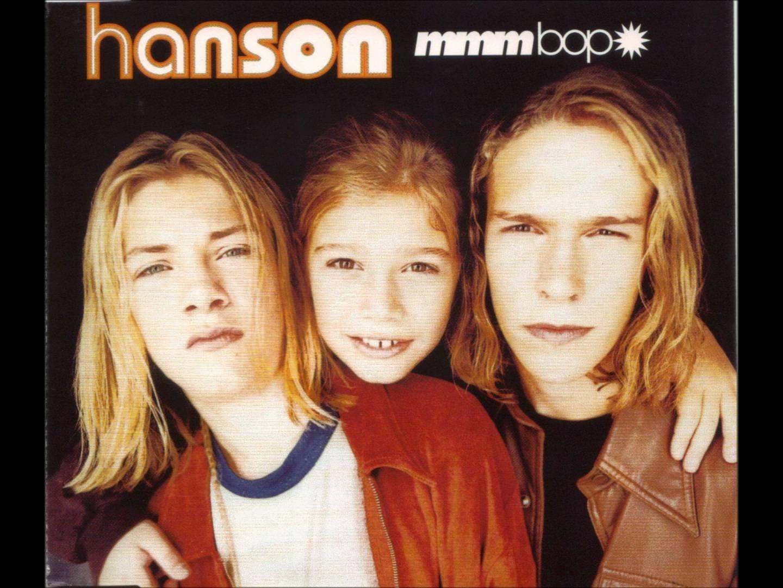 Capa do single MMMbop dos Hanson, megahit de 1997 (Foto: Divulgação)