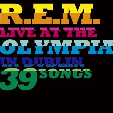Imagem do álbum Live At The Olympia do(a) artista R.E.M.