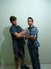 Marcus e Ronaldo