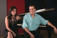 Luciano Alves e Bettina Graziani