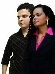 Giliard Lima e Tamires Oliveira
