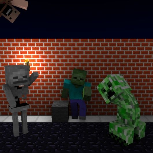 creepers gonna steal our stuff again