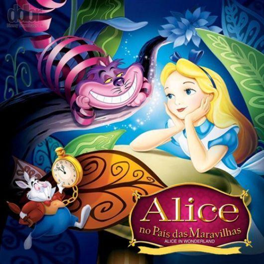 Abertura 1951 Alice No Pais Das Maravilhas Letras Com