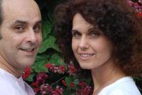 Maria Claudia e Marcos Mendes