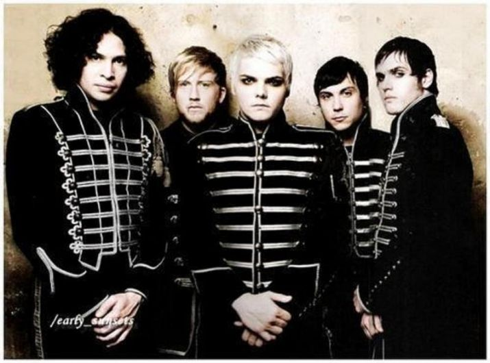 my chemical romance letras mama: