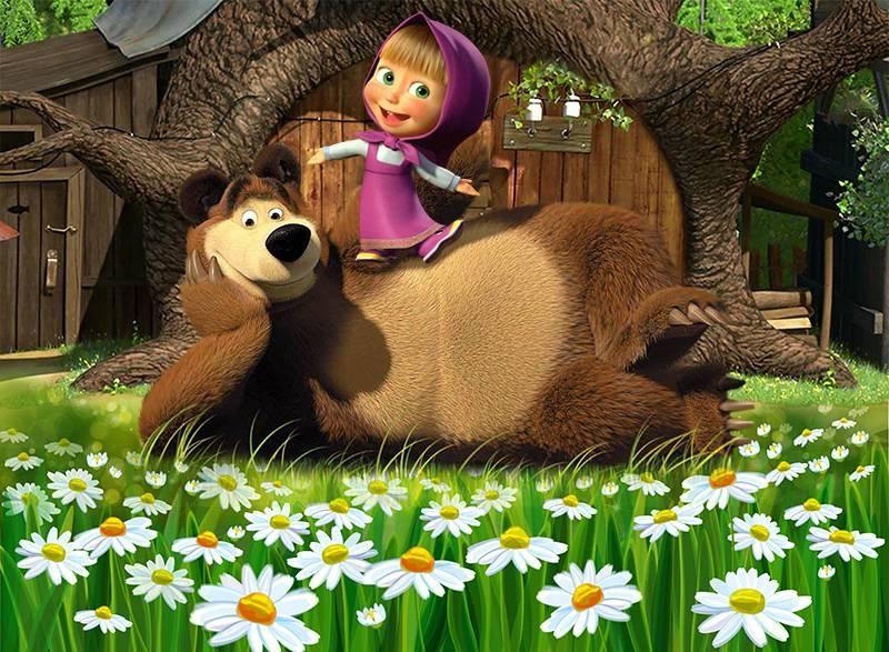 Masha E O Urso Letras Mus Br