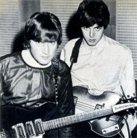 John Lenon And Paul Maccarteney