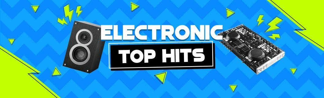Uma seleção só com os hits da música eletrônica. Ouça