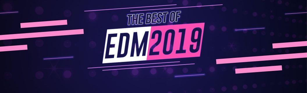 Uma playlist com as melhores do EDM em 2019
