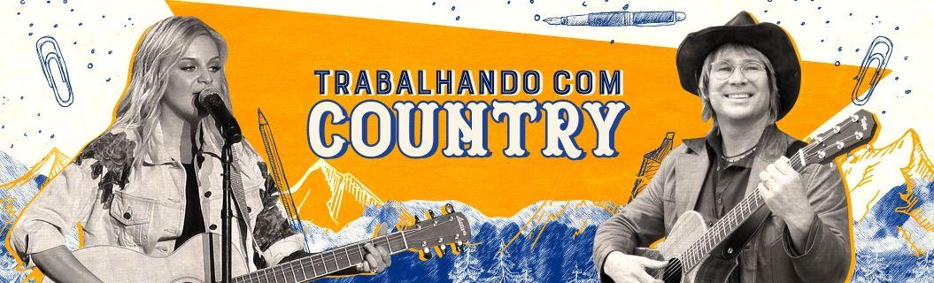 As melhores músicas de country para manter o foco. Vem ouvir