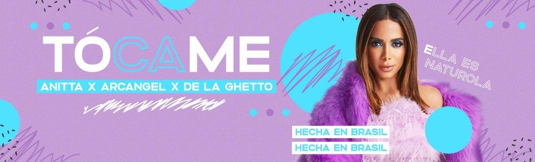 """Escucha """"Tócame"""", lo nuevo de Anitta, Arcángel y De La Ghetto"""