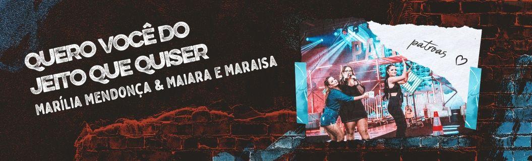 Marília Mendonça e Maiara e Maraísa lançaram música juntas. Ouça