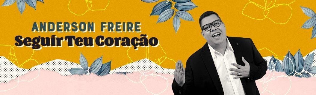 """Anderson Freire lançou clipe de """"Seguir Teu Coração"""". Vem ver"""
